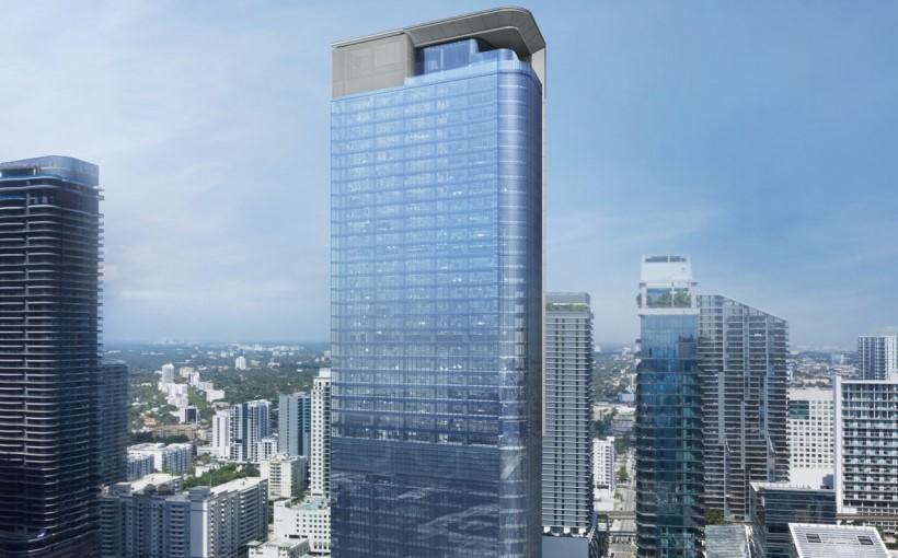 830 Brickell office building rendering Miami
