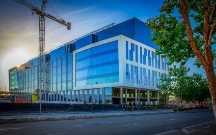 One Santana West Office Construction