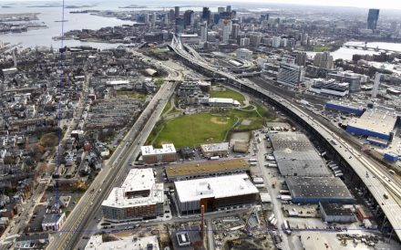 Industrial Area in Boston