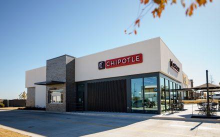 Chipotle Chipotlane drive-thru location