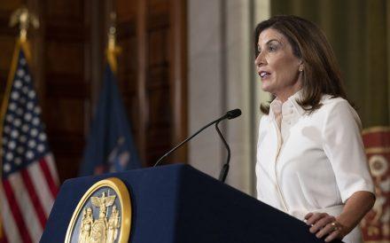 New York Gov. Kathy Hochul delivers virtual address August 24 2021