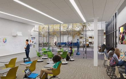 Art in Motion charter school Rendering South Shore Chicago
