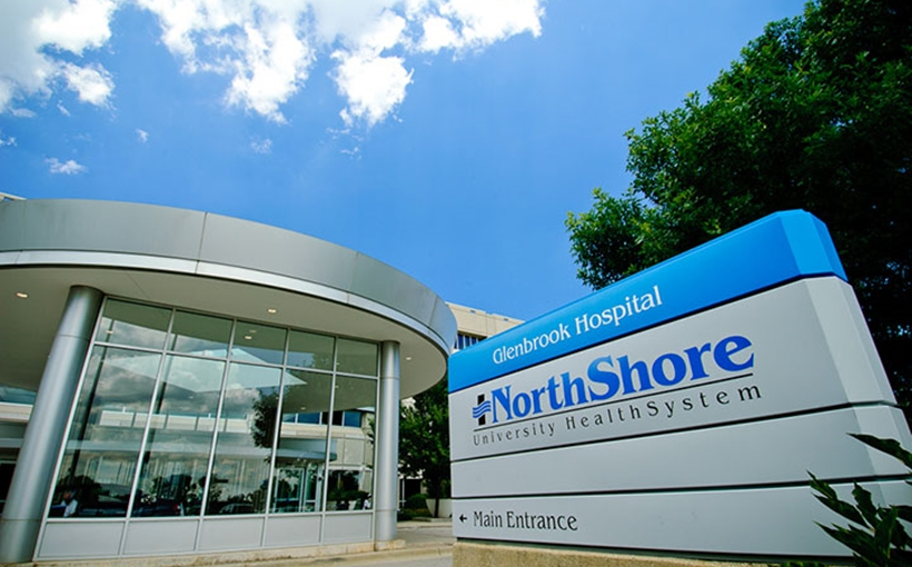 NorthShore Glenbrook Hospital Glenview IL exterior