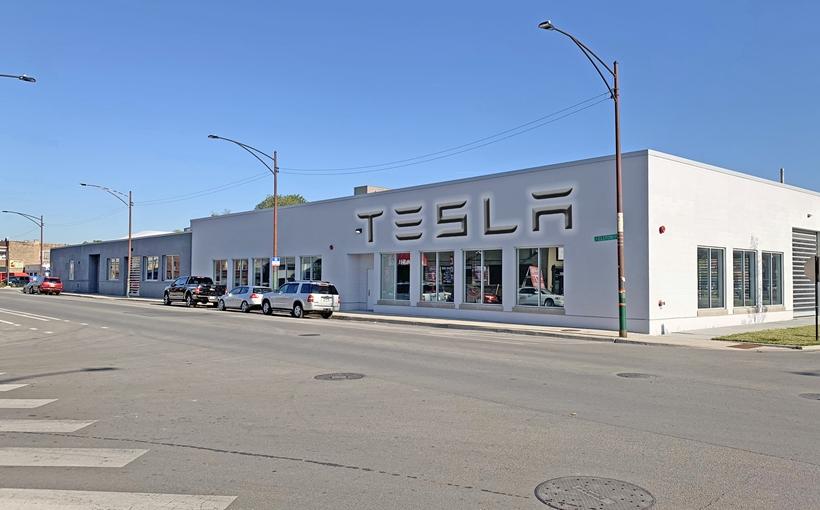 Tesla Service Center Avondale Chicago
