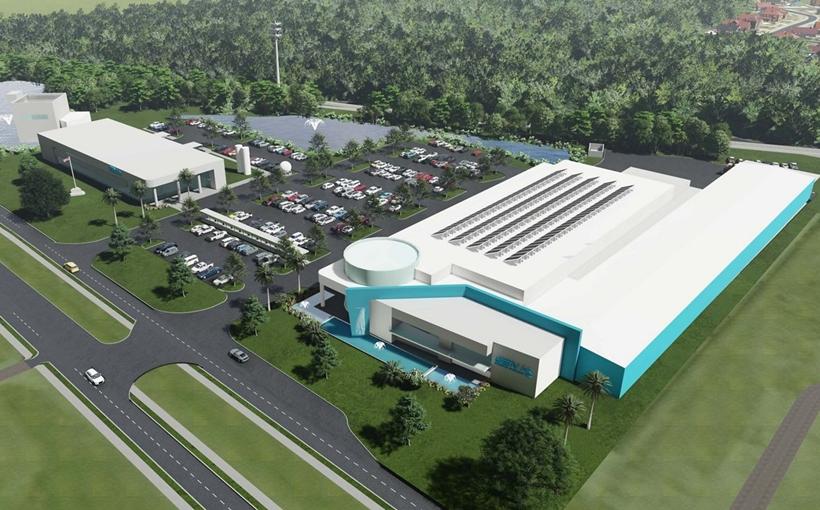 GenH2 new headquarters rendering Titusville FL