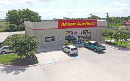 Advance Auto Parts store exterior Taylor TX Boulder Group
