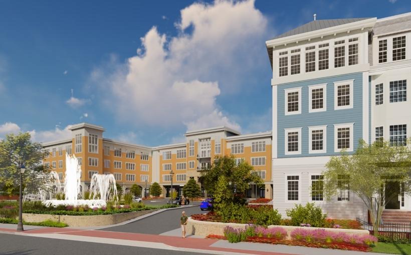 Tritec Bay Shore Residences rendering Bay Shore NY