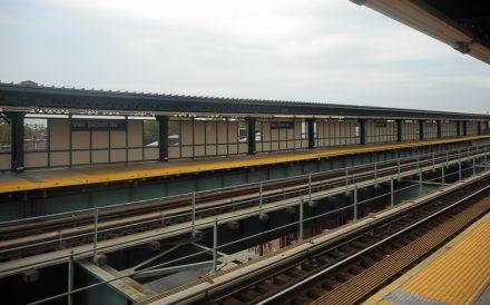 Van Siclen Avenue subway station Cypress Hills Brooklyn Photo by DanTD