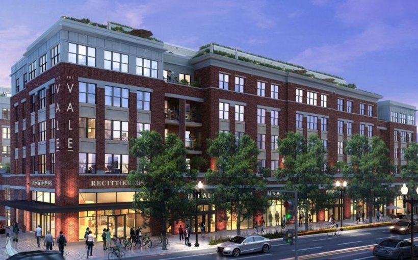 The Vale apartments Washington DC Parks at Walter Reed redevelopment