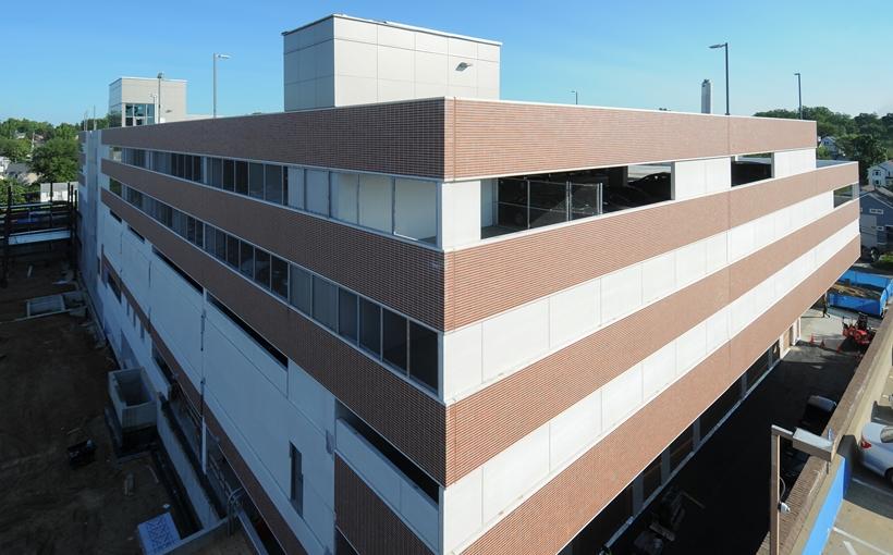 Virginia Hospital Center Garage exterior Courtesy Skanska