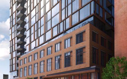 166 N. Aberdeen St. rendering Chicago Greystar