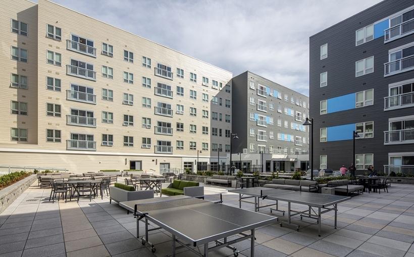 Blue Vista Theory Syracause student housing