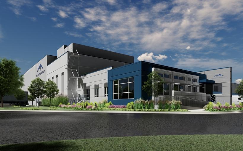 Cold Summit Chicago I rendering Bedford Park IL cold storage industrial development