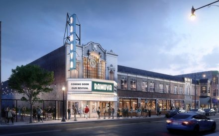 Ramova Theater rendering 3510-3520 South Halsted Street Chicago renovation