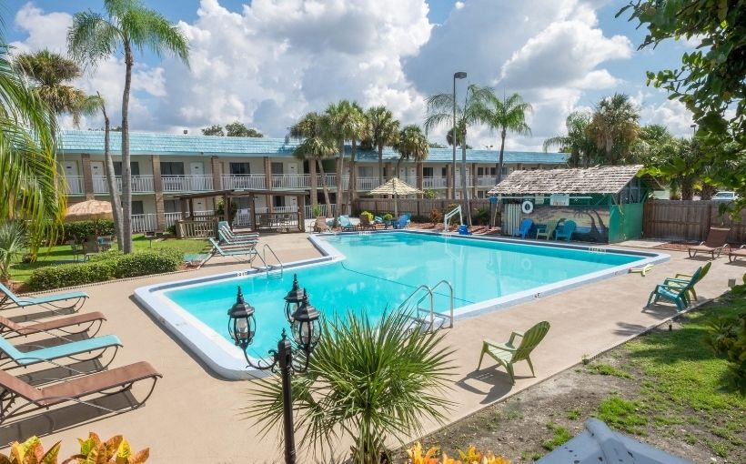 Magnuson Hotel Clearwater near Clearwater Beach, FL