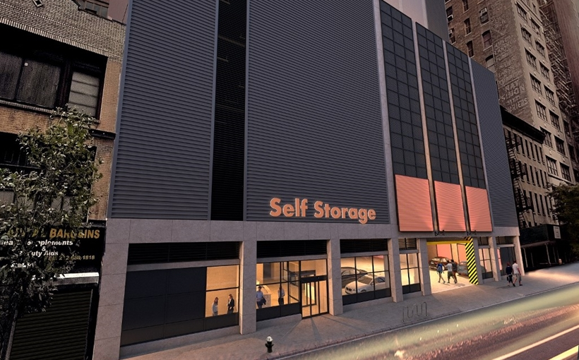 155-165 W. 29th Street rendering Manhattan self storage The Davis Companies