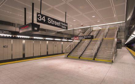 34 Street Hudson Yards subway station Manhattan