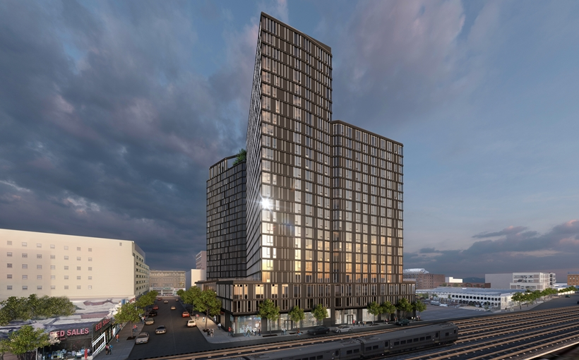 Archer Towers rendering Jamaica Queens BRP Companies apartment development