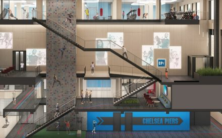 Chelsea Piers Fitness rendering One Madison Avenue Manhattan SL Green Realty Corp.