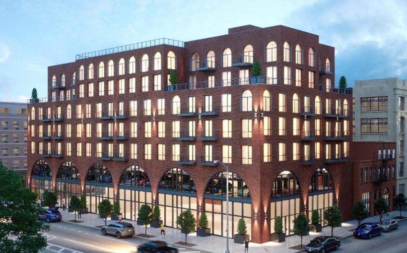 The Kent House apartments 187 Kent Ave. Willismburg Brooklyn